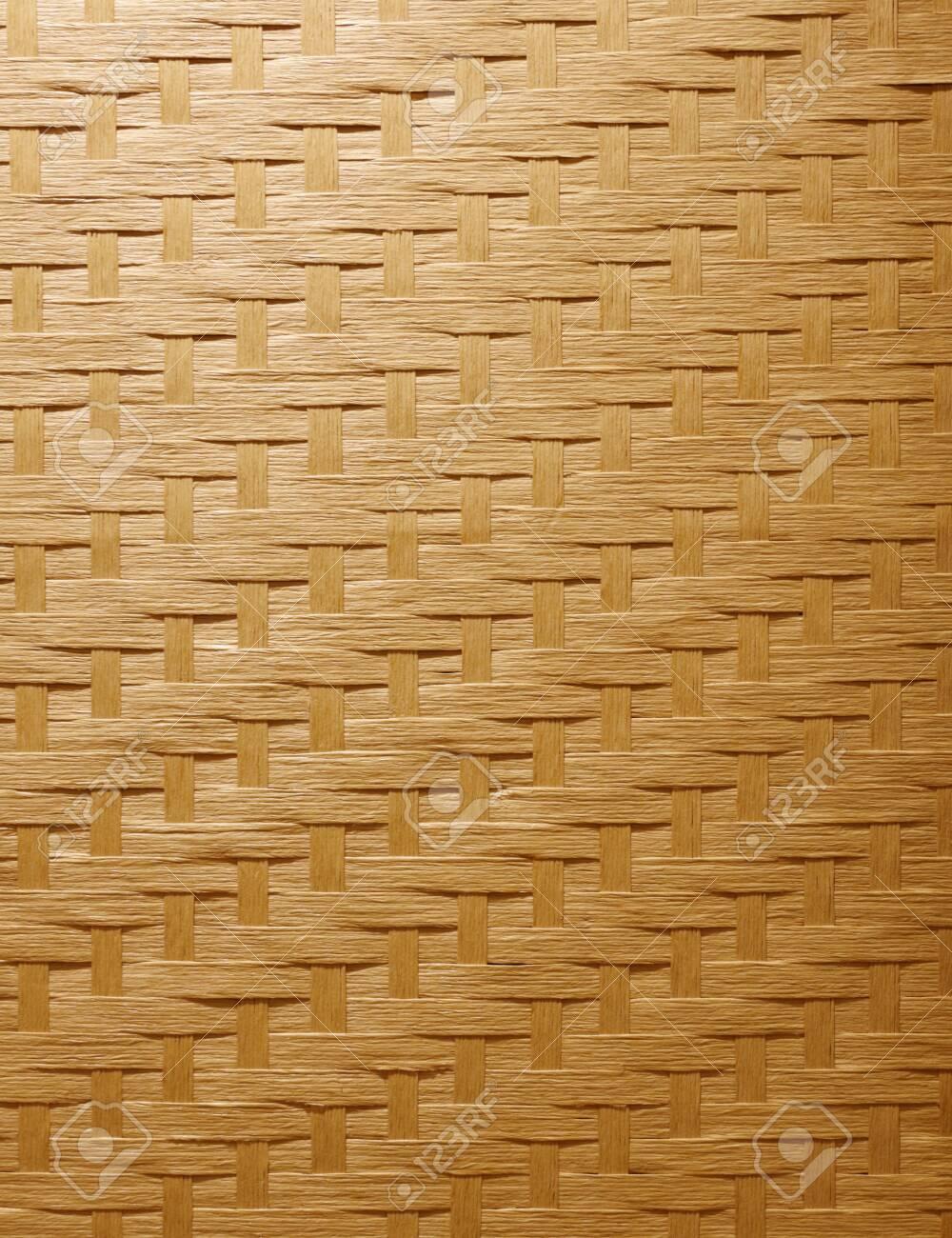 Bamboo knitting background - 129192439