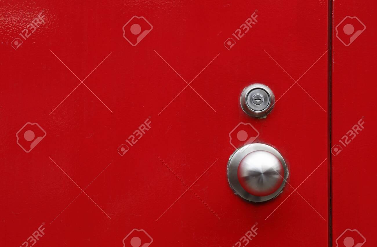red door background - 129195315