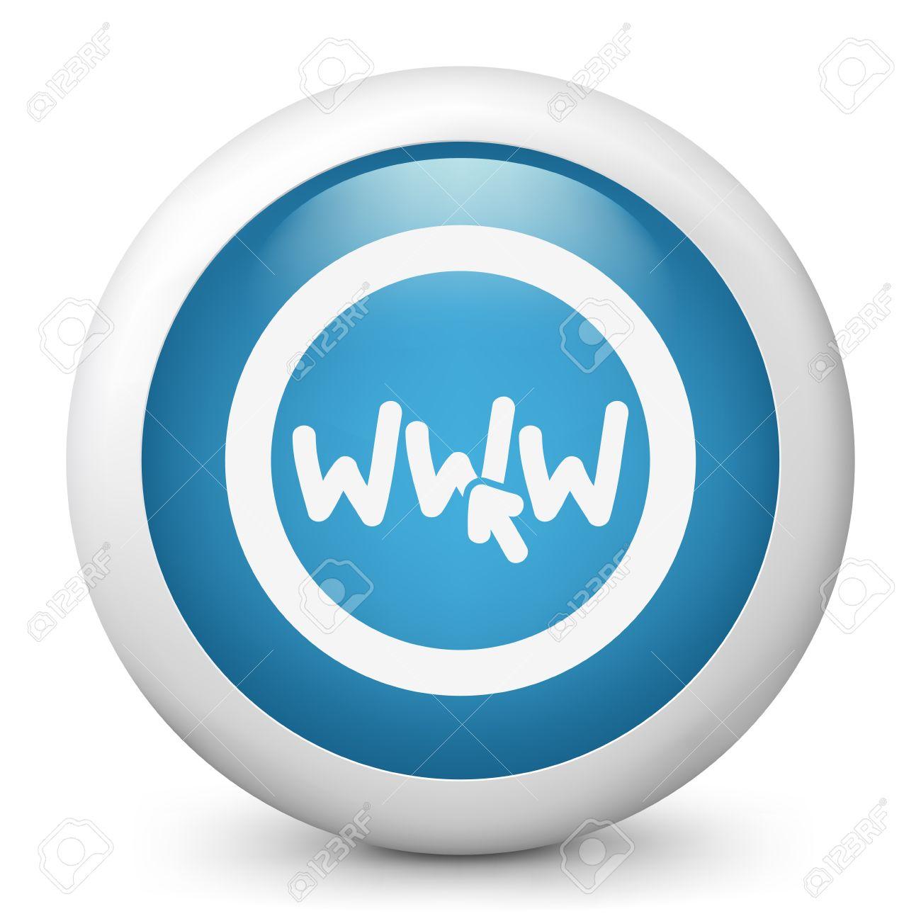 Web connection click link icon Stock Vector - 19616581