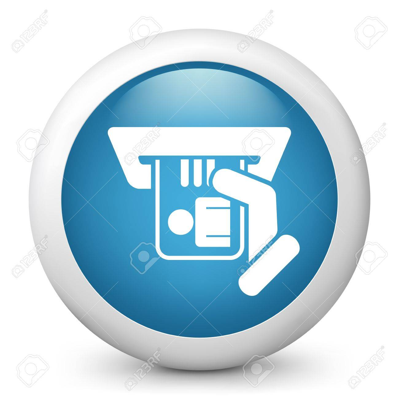 Identity card insert icon Stock Vector - 20084207