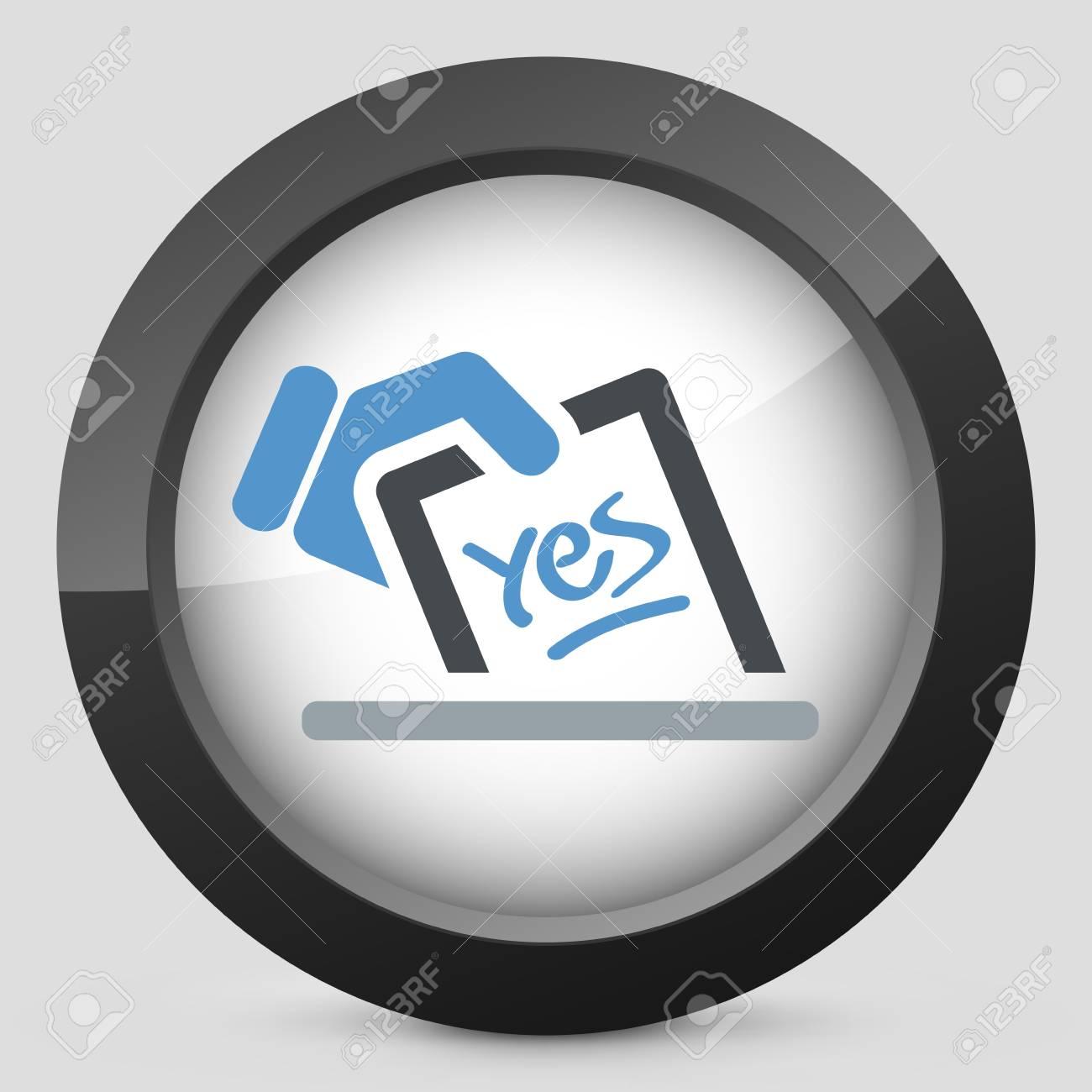 Vote concept icon Stock Vector - 20084280