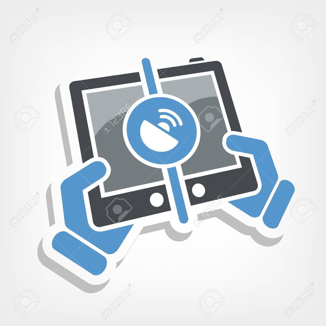 Handy-Verbindungssymbol Lizenzfrei Nutzbare Vektorgrafiken, Clip ...