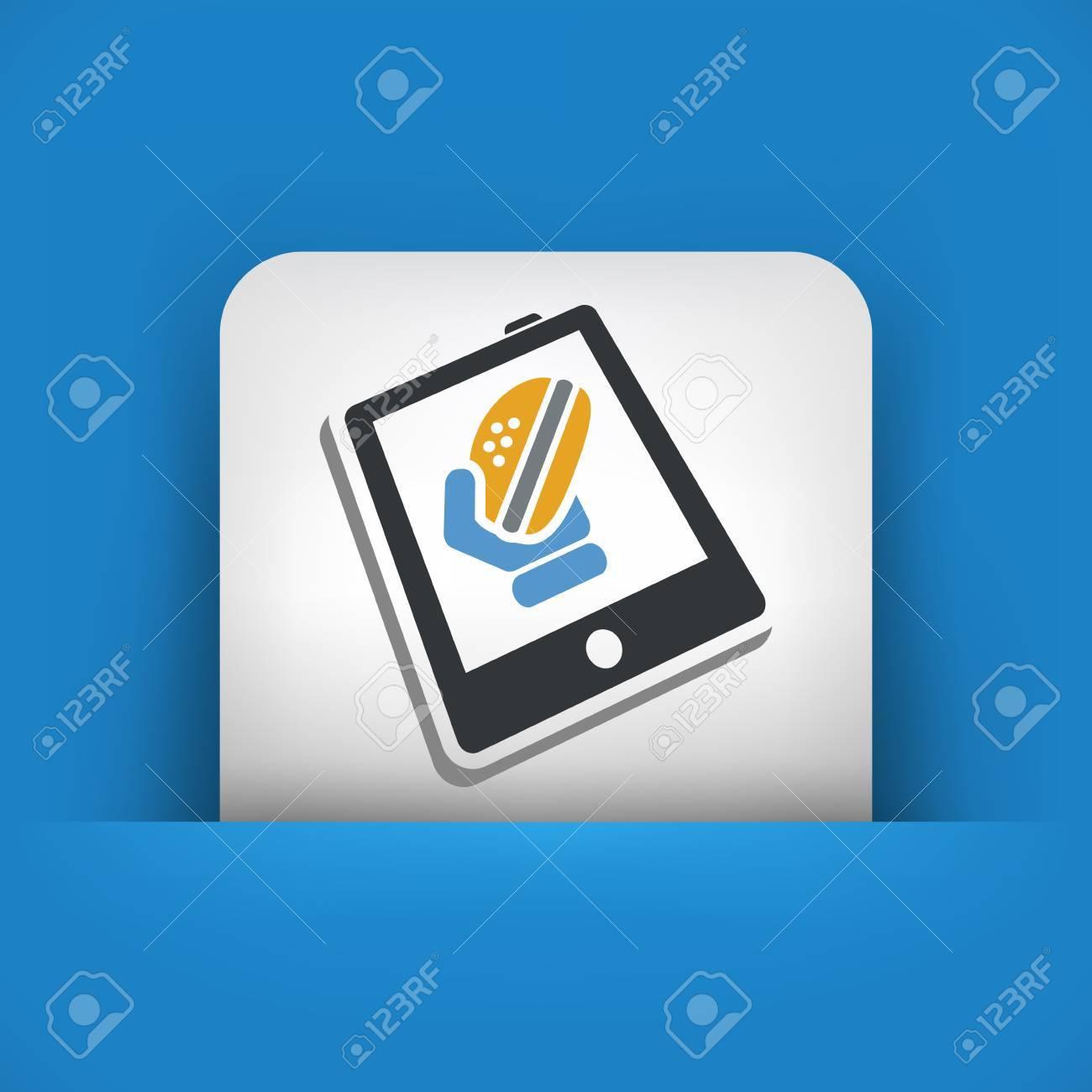 Web takeaway Stock Vector - 25186438