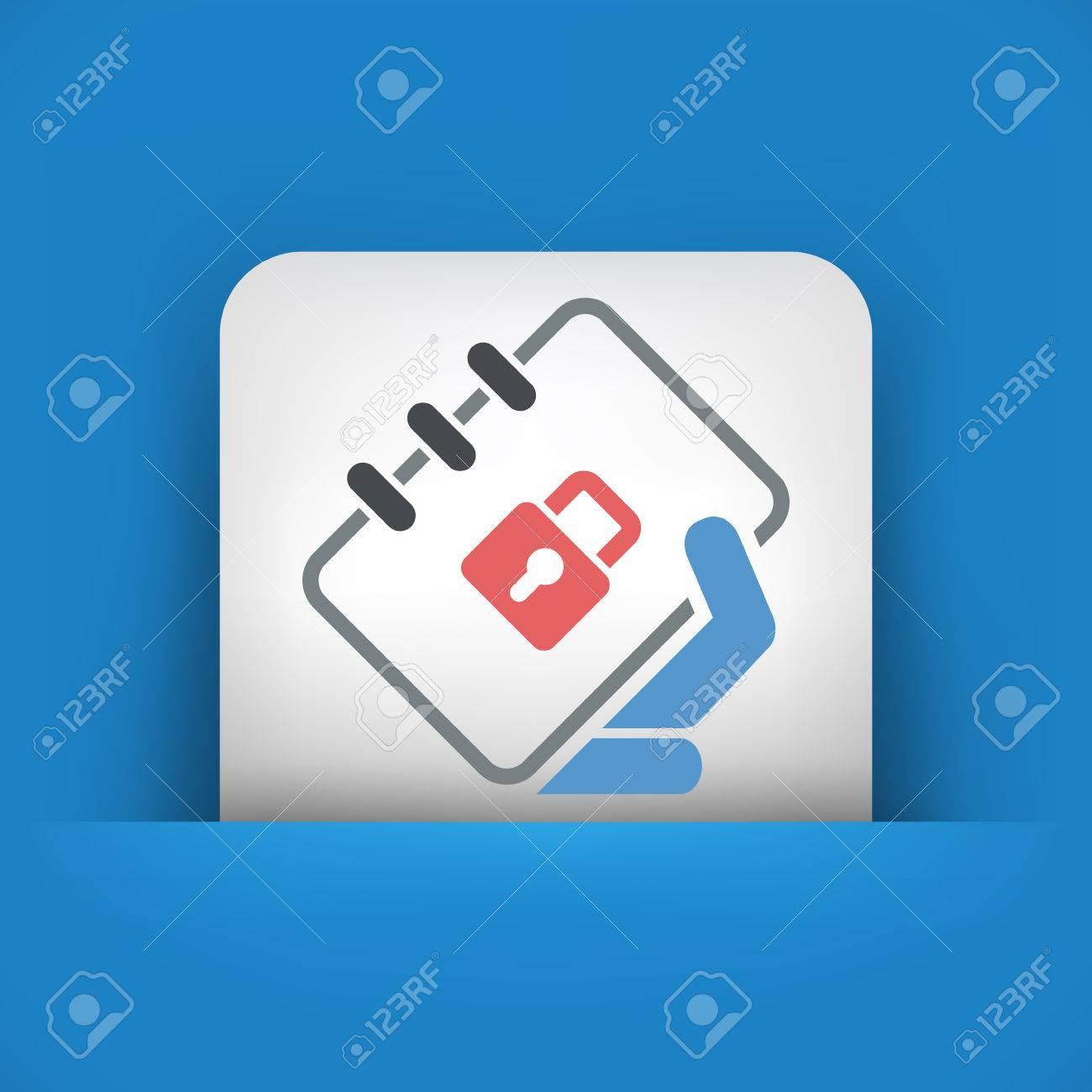 Book protection Stock Vector - 26133406