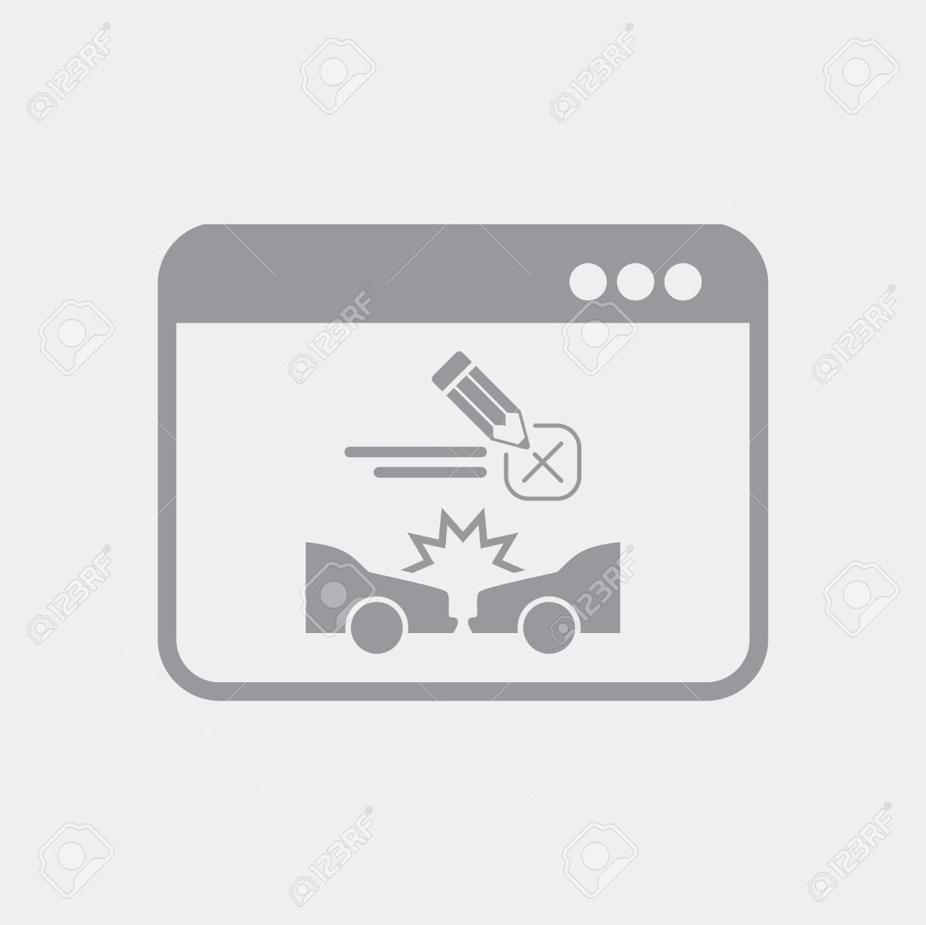 Flat and isolated vector illustration icon with minimal and modern design - 103982634