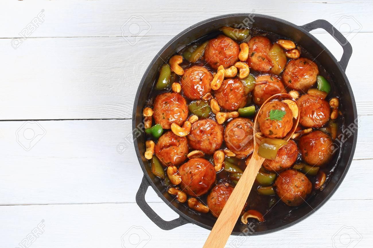 recipe: chinese turkey meatballs [31]