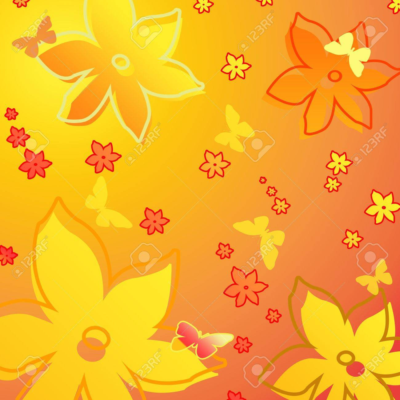 Background (flowers) Stock Photo - 2327588
