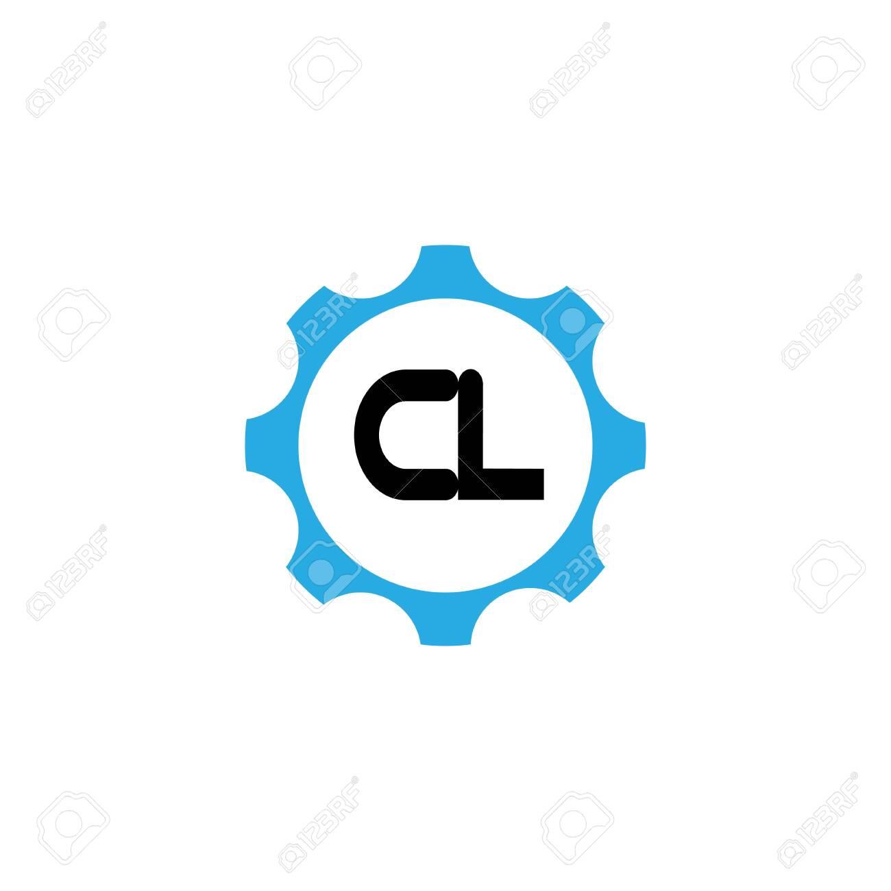 Initial Letter Logo CL Template Vector Design - 119226917