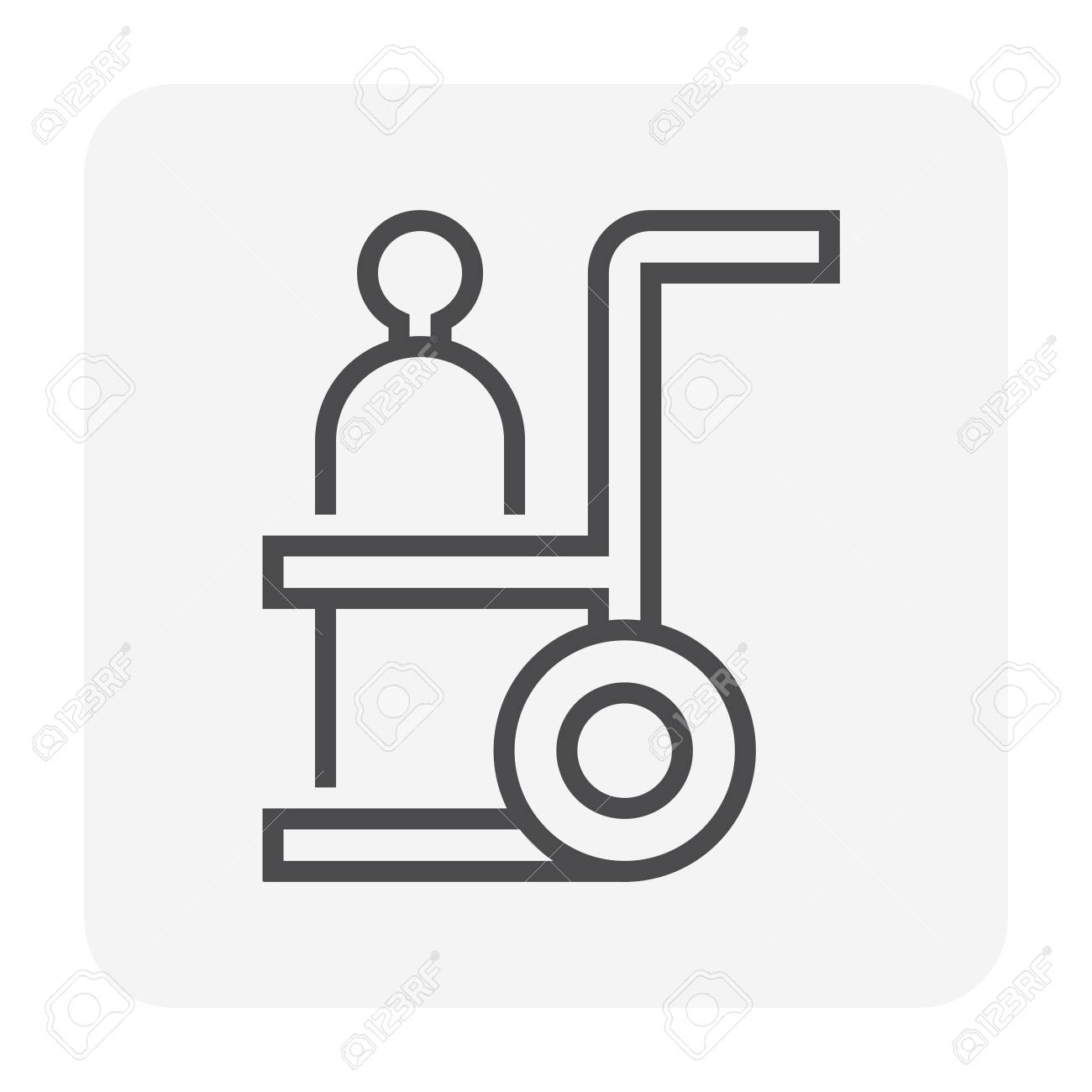 Gas cutting tools icon , 64x64 perfect pixel and editable stroke