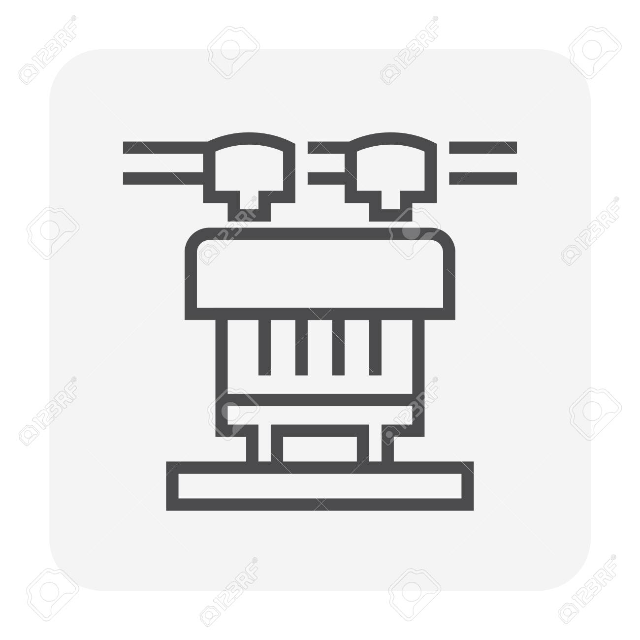 Transformer Icon 64x64 Perfect Pixel And Editable Stroke