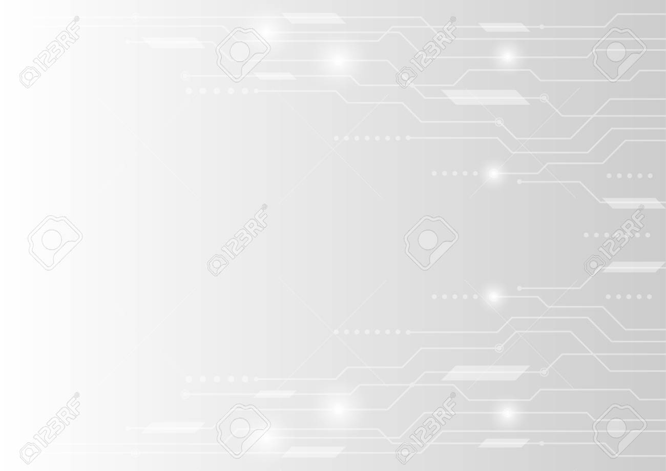 vector background abstract technology communication concept - 125781378