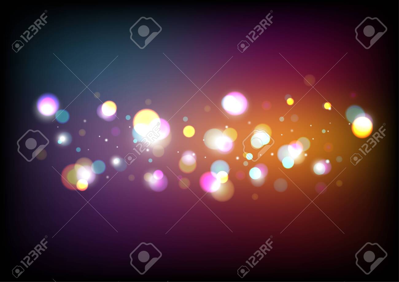 Abstract Colorful Bokeh Background. - 145603592