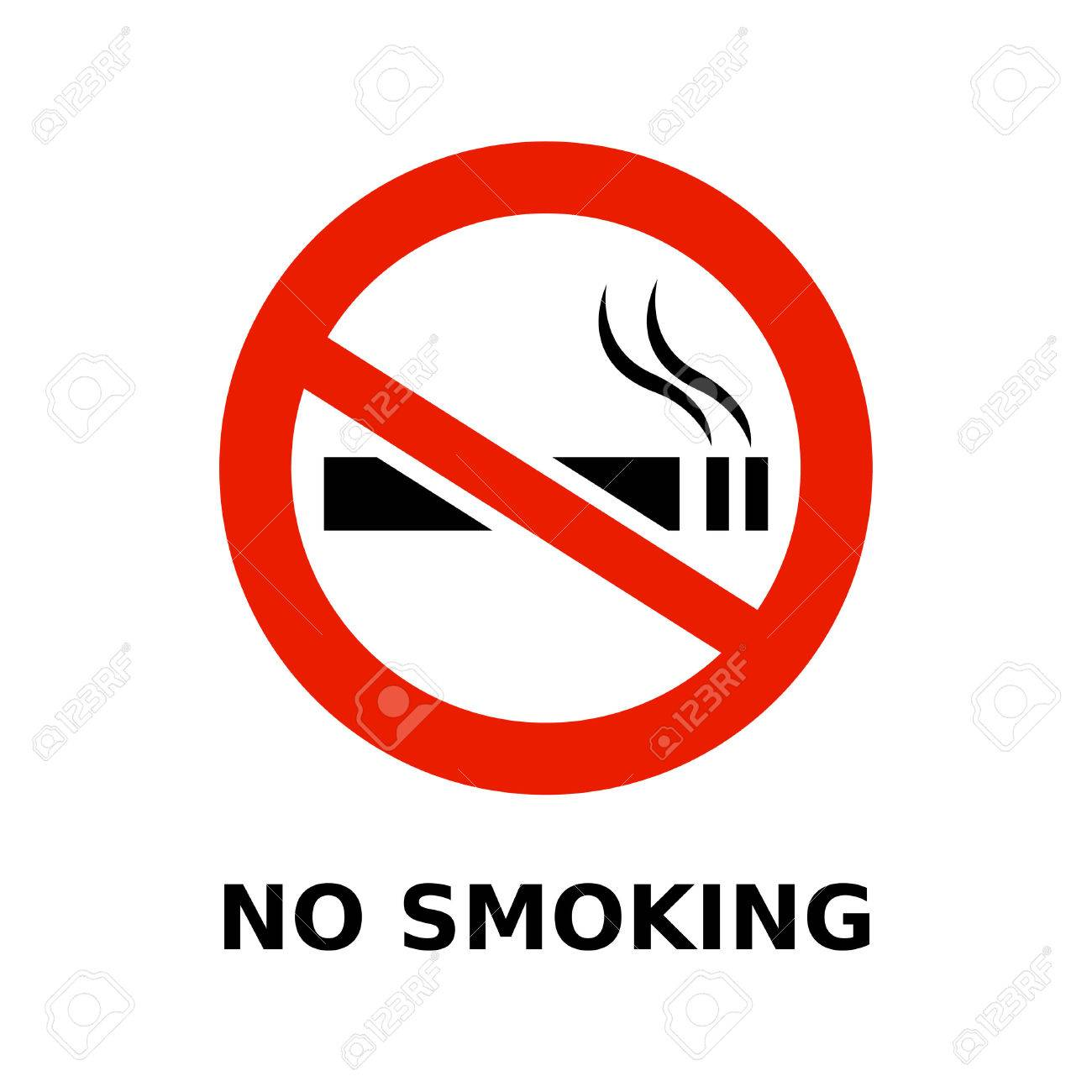 No smoking symbol and text on white background royalty free cliparts no smoking symbol and text on white background stock vector 25127692 buycottarizona Images