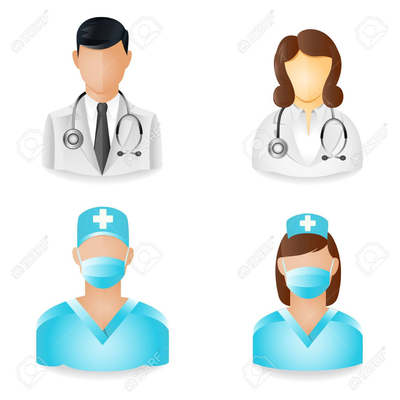 People Icons - Medical - 25988333