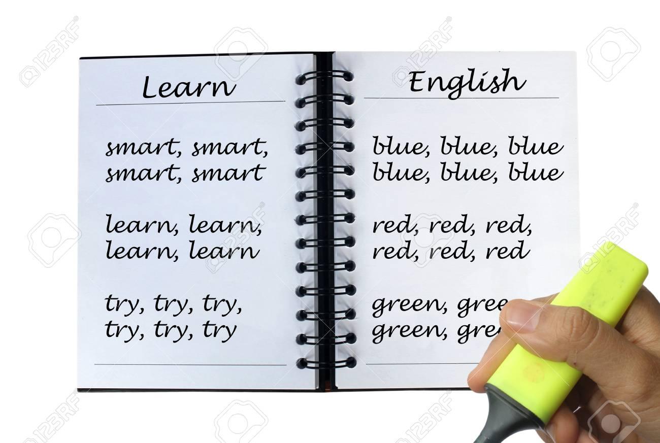 英語 ノート ブック