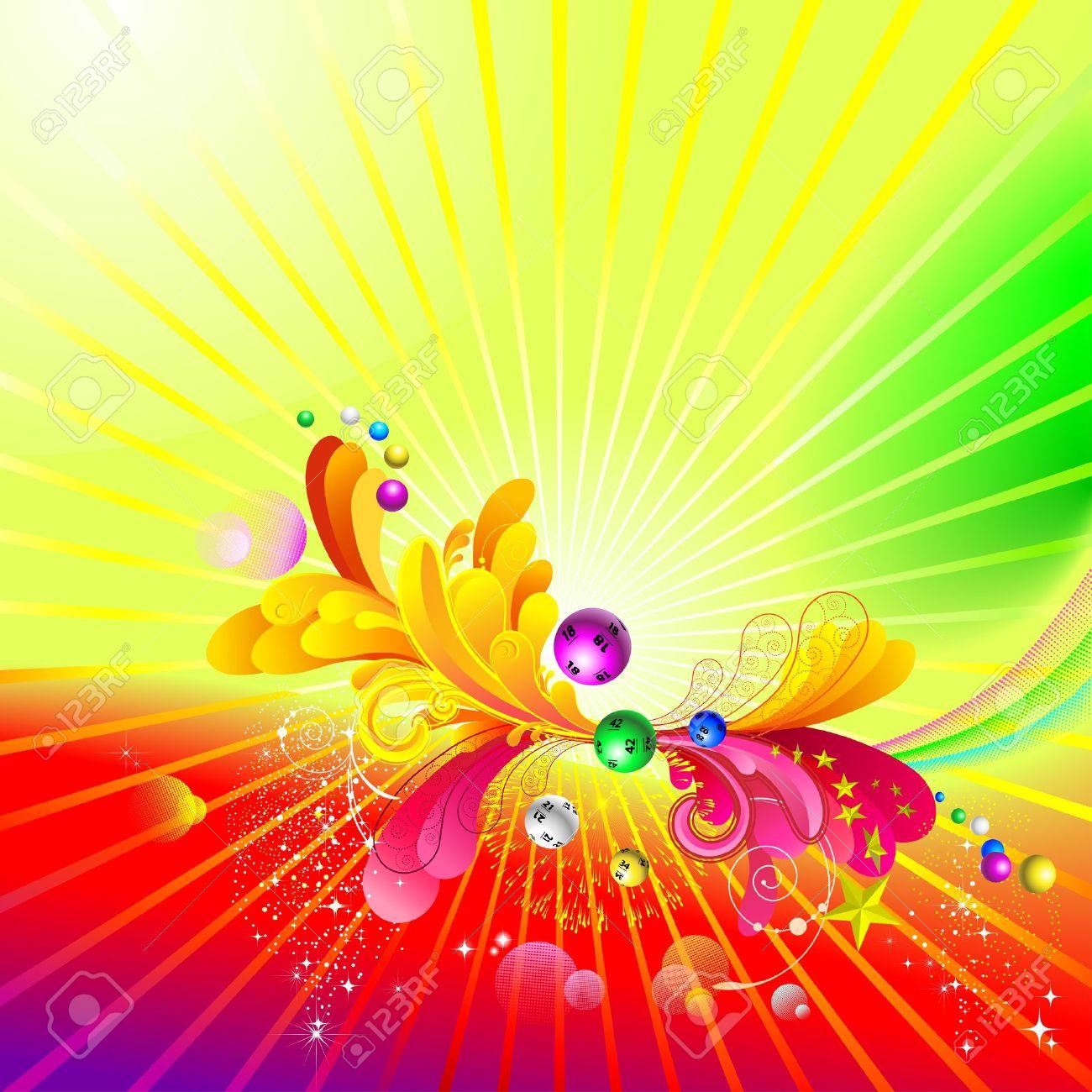 Luminous background Stock Vector - 13217237