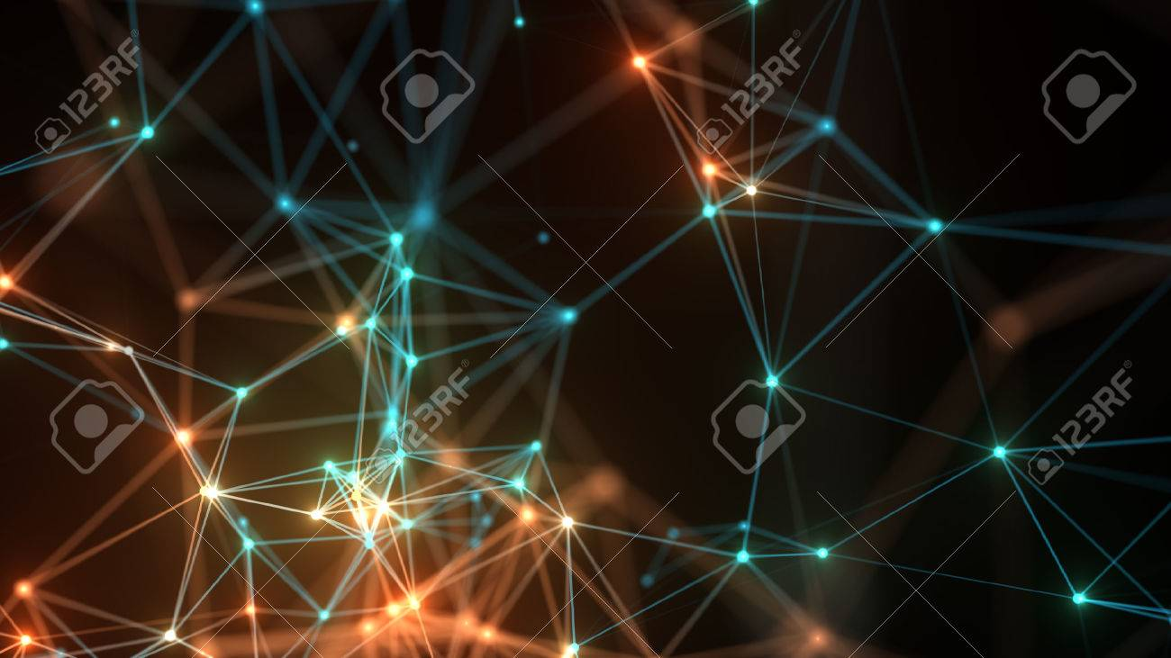 Abstract concept network, communication, social networking, connection. - 53730726