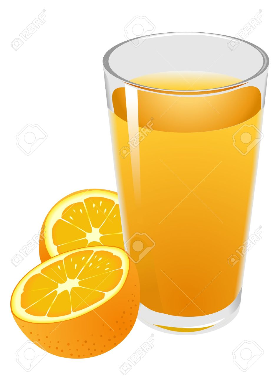 illustration of glass with orange juice and oranges royalty free rh 123rf com drinking orange juice clipart orange juice clipart free