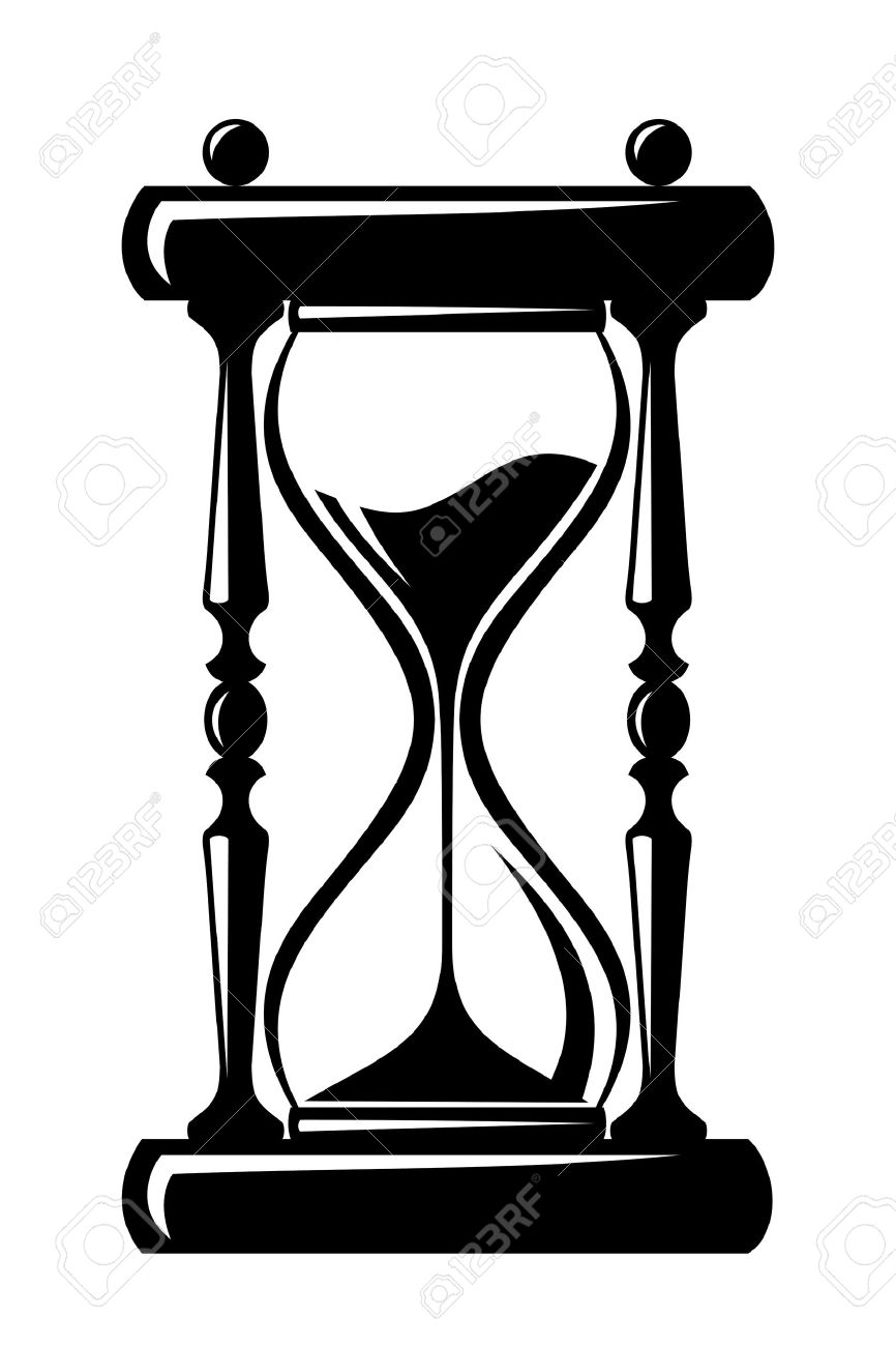 hourglass vector black silhouette royalty free cliparts vectors rh 123rf com hourglass vector graphic free hourglass vector free