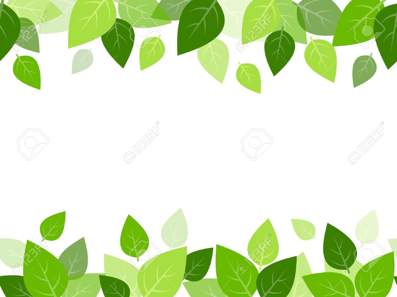 horizontal seamless background with green leaves vector royalty free rh 123rf com leaves vector pattern leaves vector art