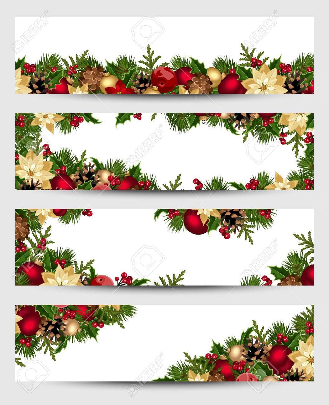 Christmas banners. Vector eps-10. - 33886294