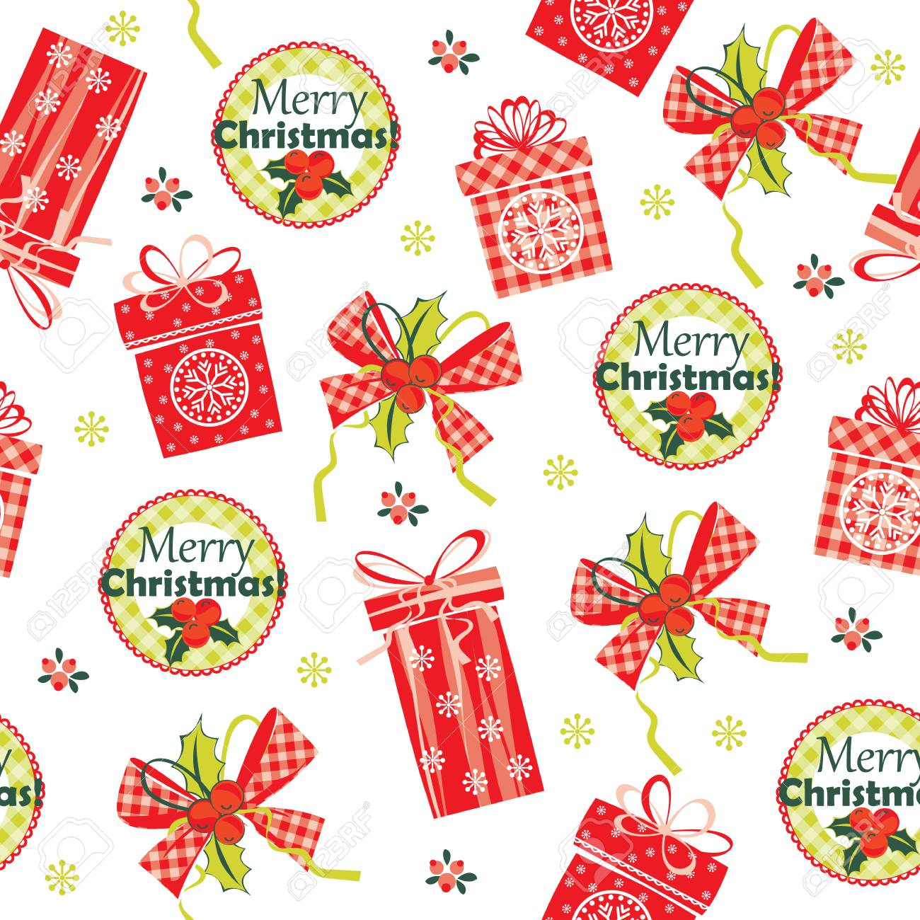 merry christmas and happy new year background stock vector 33559993