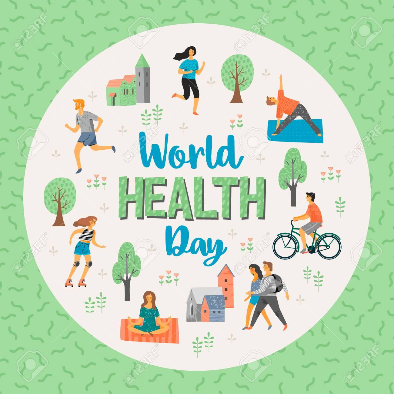 4b9a8f1cab62 World Health Day on Healthy lifestyle.