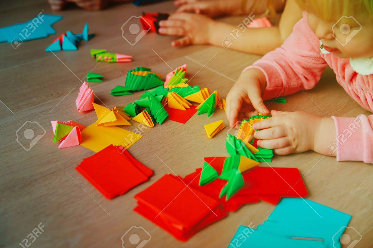 How To Make A Paper Bird Easy For Kids Origami Ideas EP1. (สอนพับ ... | 866x1300