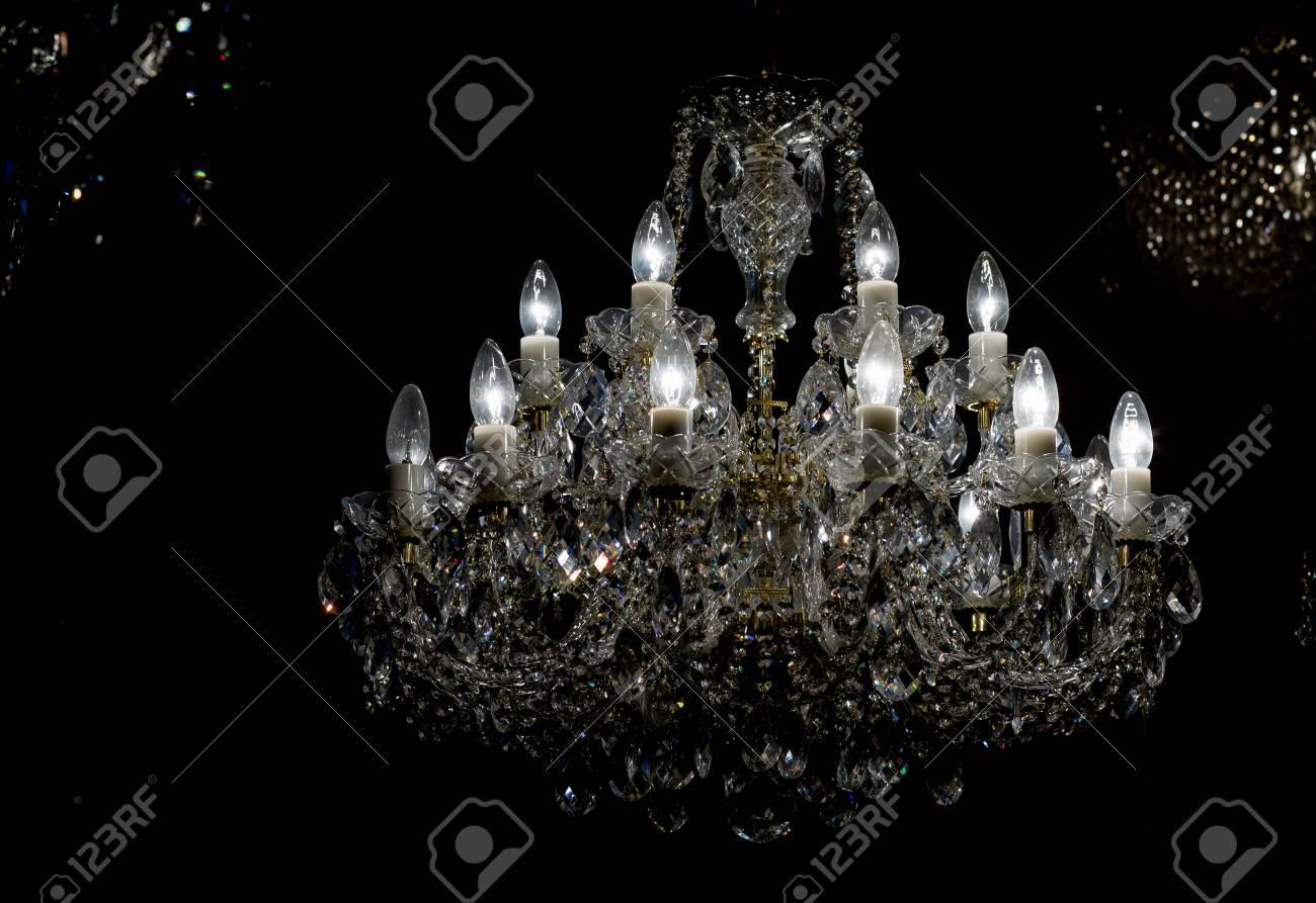 Plafoniere Cristallo Roma : Lampadari con pendenti cristallo