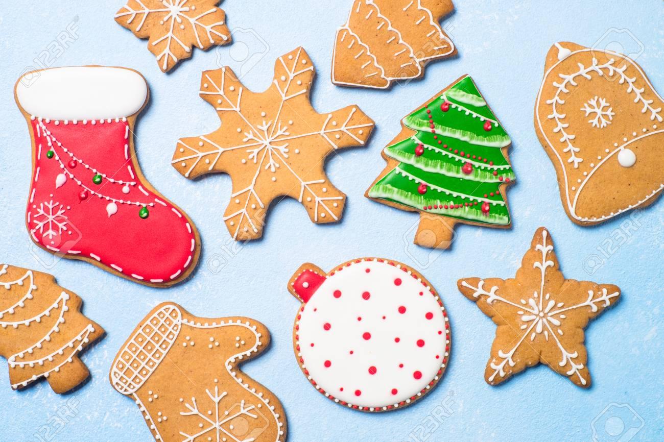 Christmas Baking.Christmas Baking Background Christmas Gingerbread Cookies At