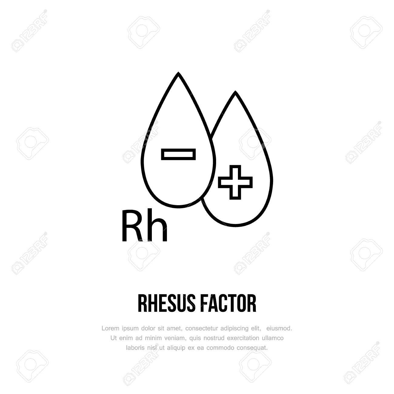 Modern vector line icon of rhesus factor blood test linear logo modern vector line icon of rhesus factor blood test linear logo outline symbol for biocorpaavc Image collections