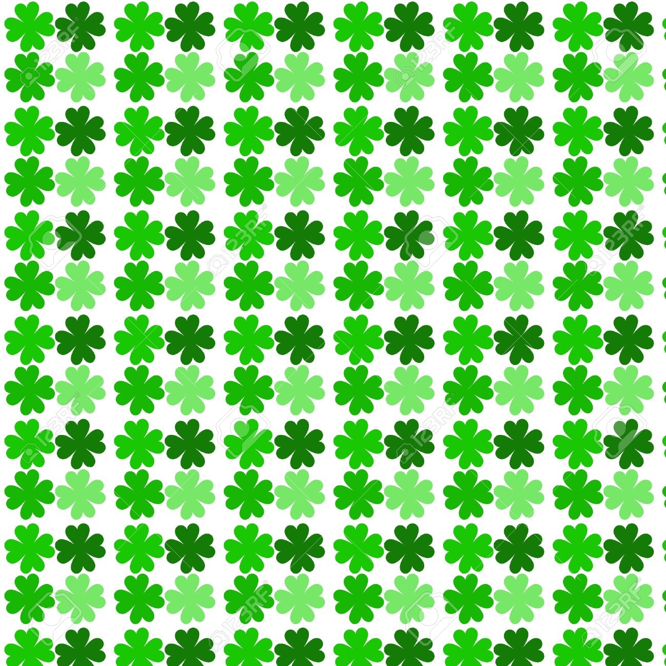 four leaf clover pattern stock photo picture and royalty free
