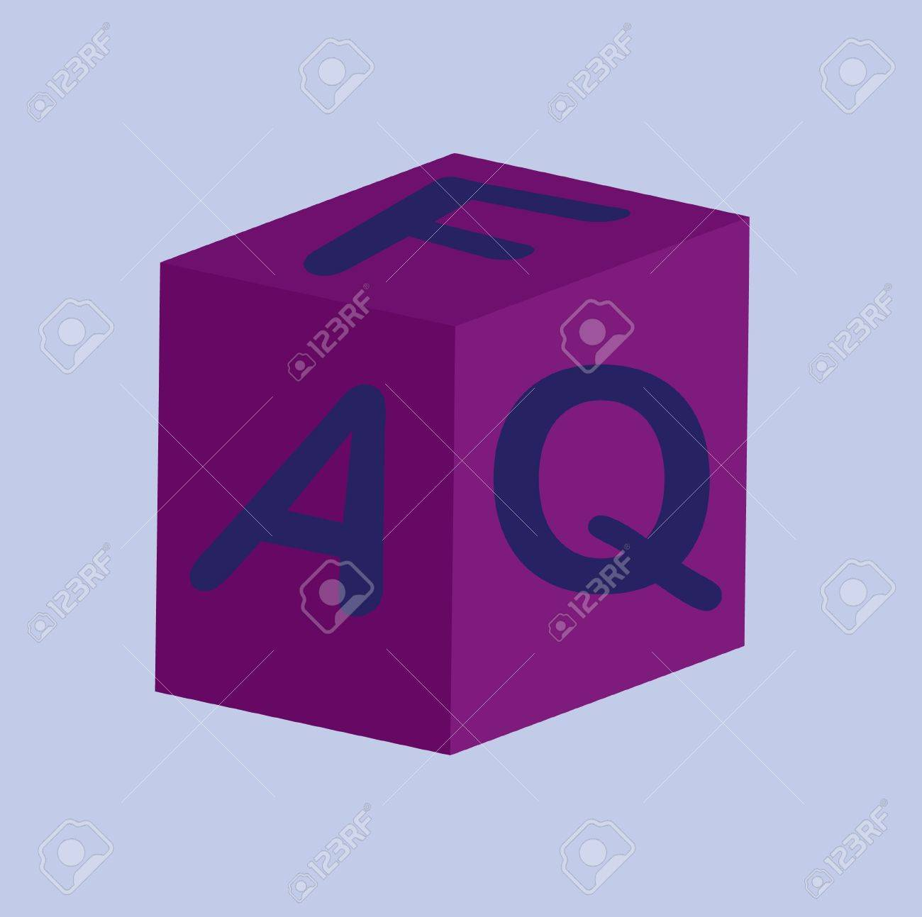 Frequently asked Questions Stock Vector - 12990264