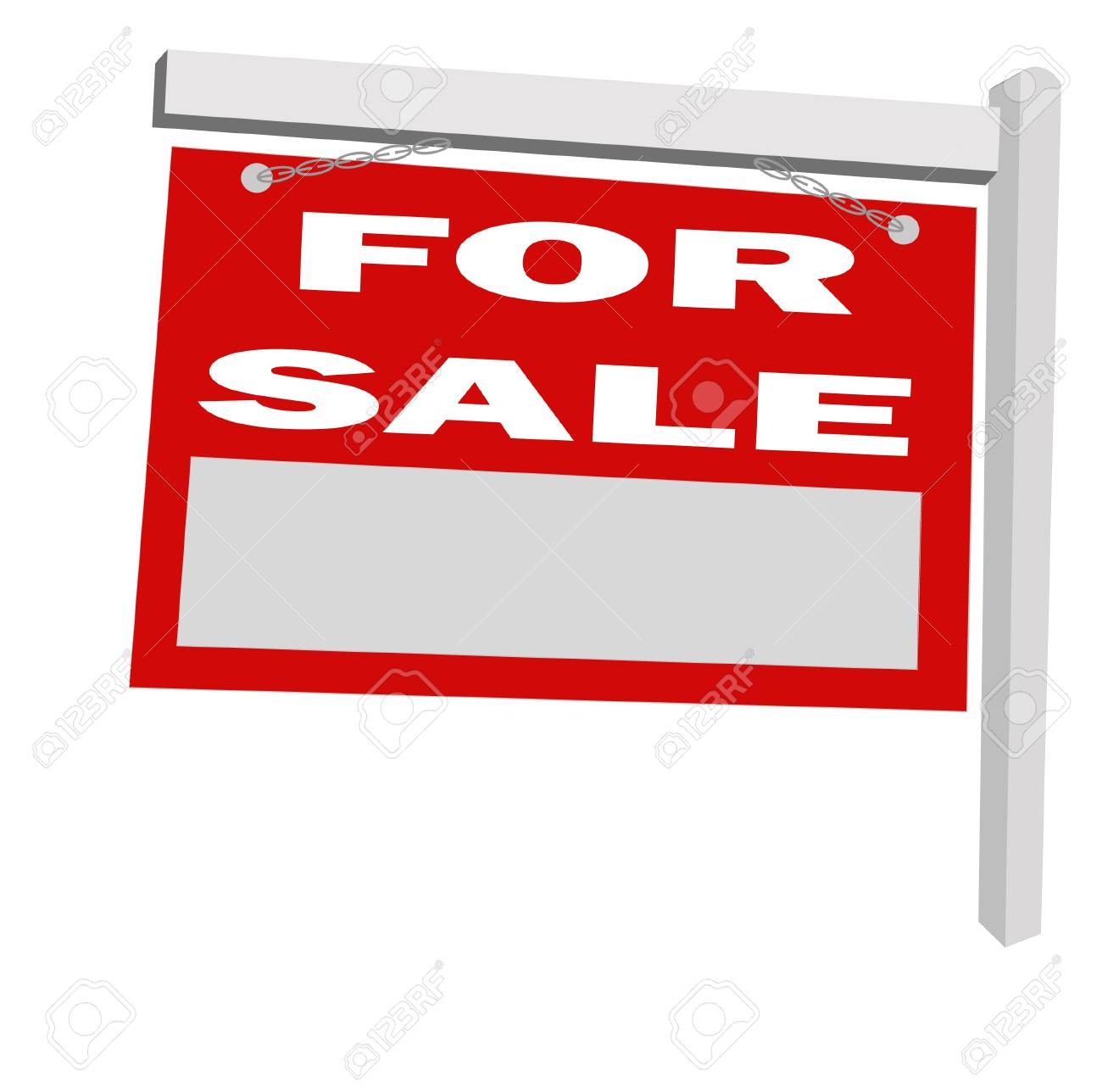 for sale sign Stock Vector - 13080867