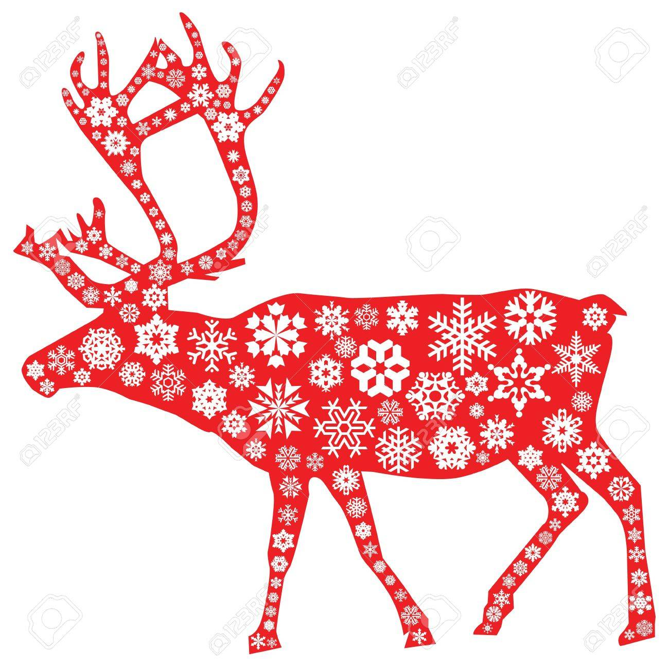 1,562 Christmas Moose Stock Illustrations, Cliparts And Royalty ...