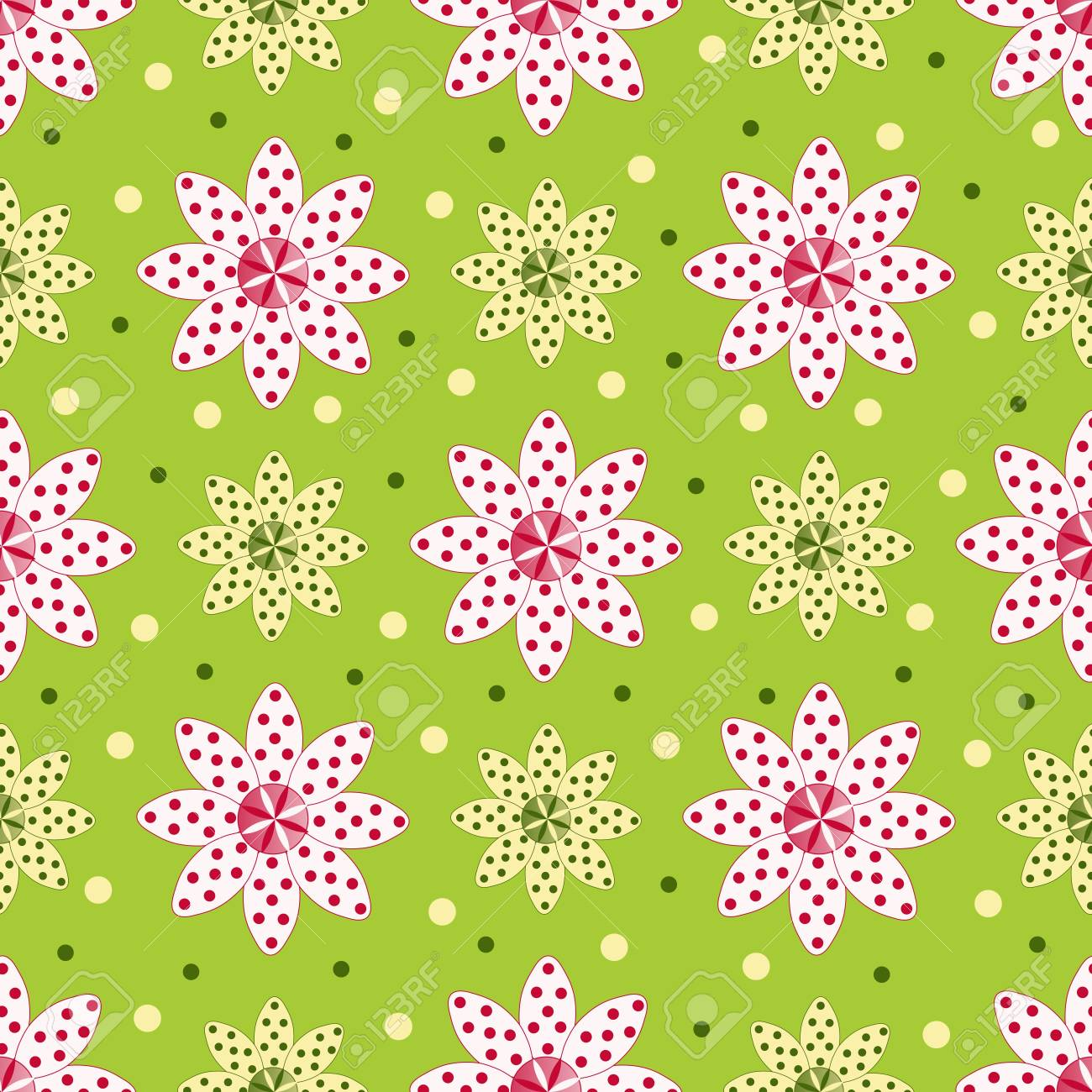 Abstract vector illustration of floral Stock Vector - 20284401