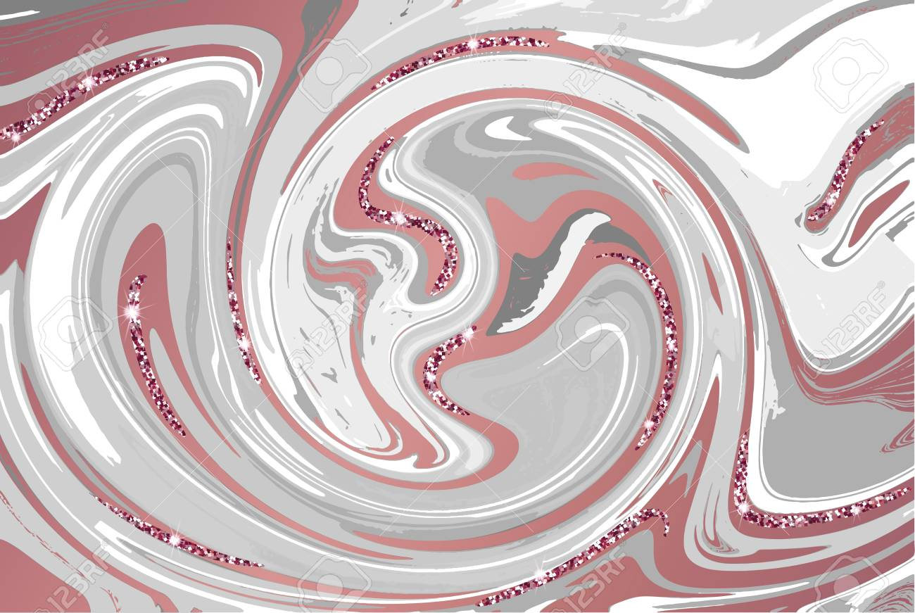 Vettoriale Marmo Oro Rosa Texture Per Brochure Identità Aziendale