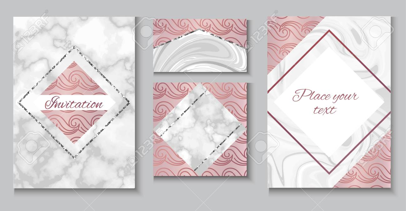 Brochure Or Vip Packaging Design Set Luxury Wrap Paper Template Royalty Free Cliparts Vectors And Stock Illustration Image 95912472