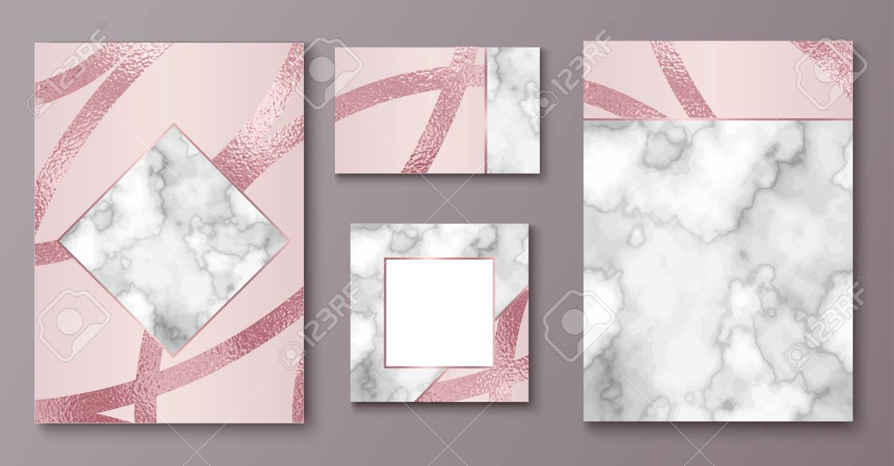Brochure Or Vip Packaging Design Set Luxury Wrap Paper Template Stock Photo Picture And Royalty Free Image Image 100932598