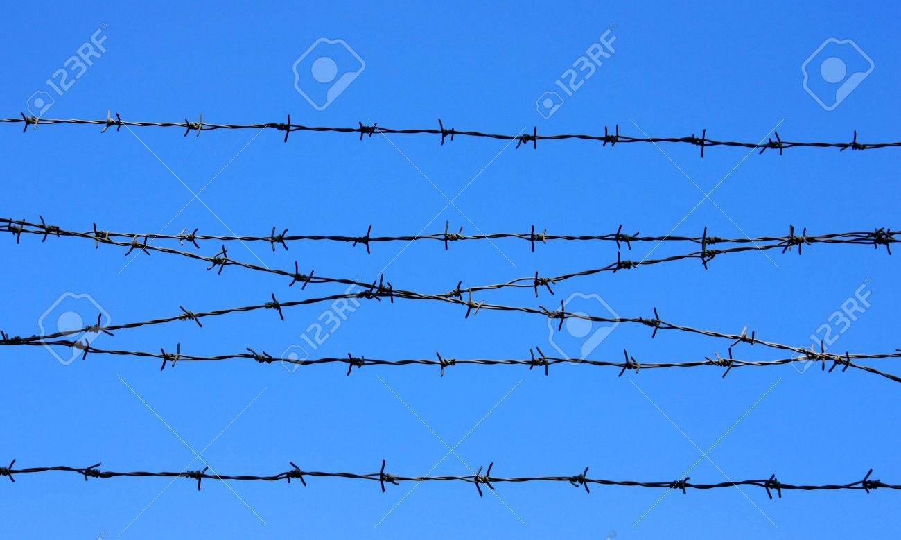 barbed wire Stock Photo - 5564336