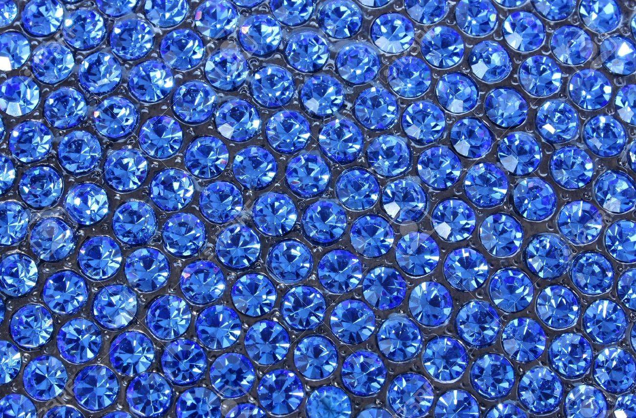 image of great number blue crystals Stock Photo - 5983666