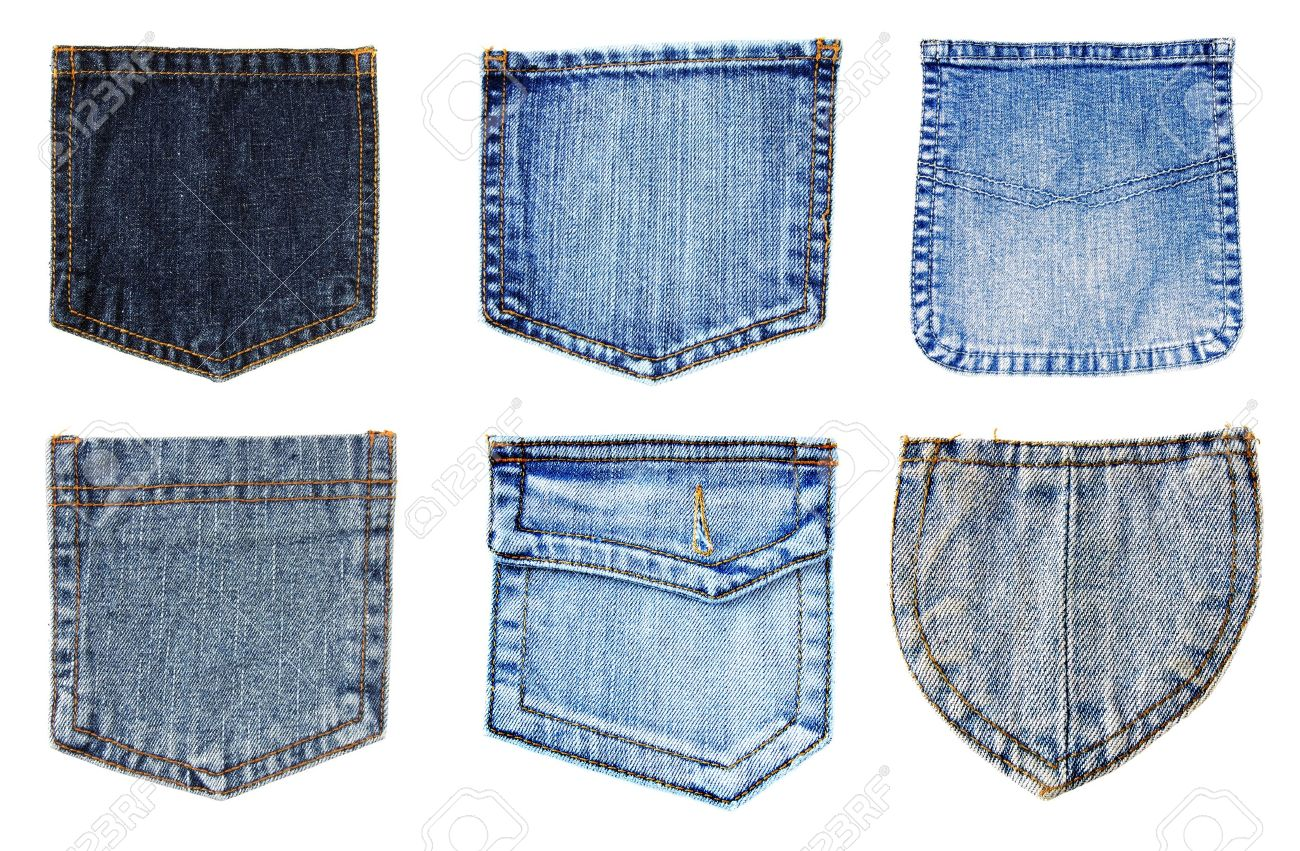 jeans pockets isolated stock photo picture and royalty free image
