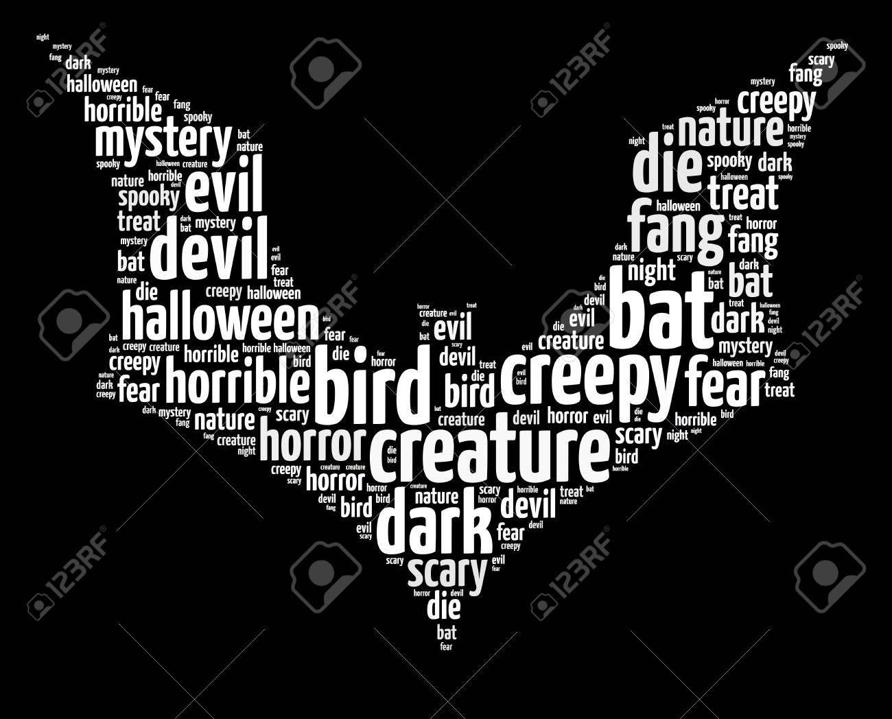 halloween themed words