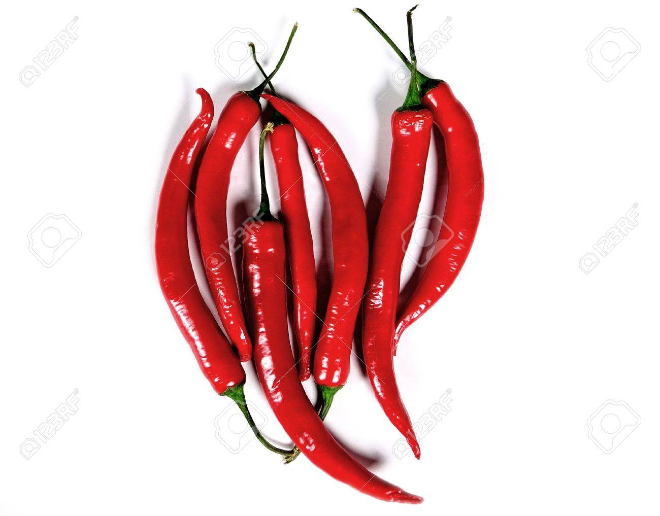 Chili peppers' heart, Mexican cuisine Stock Photo - 6873108