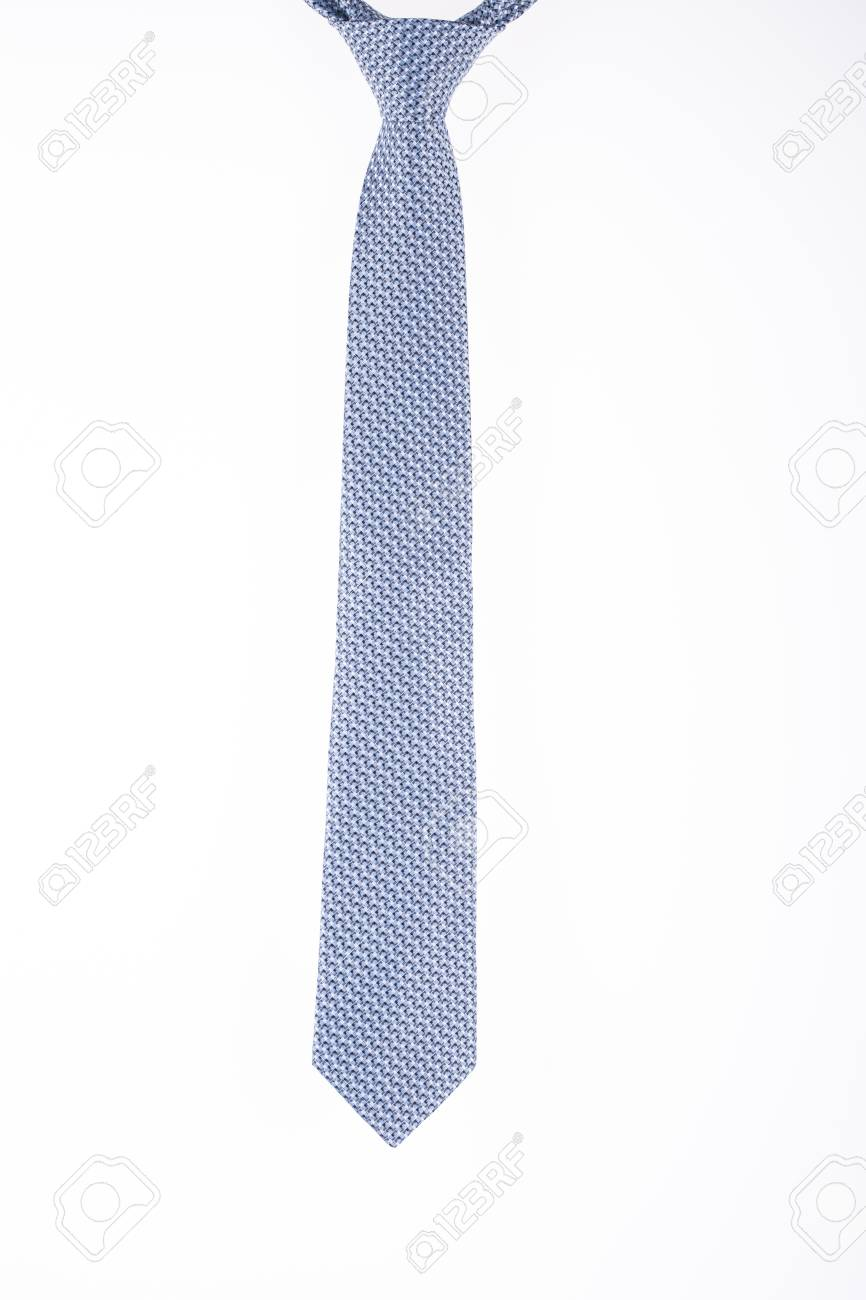 8cb936b1250227 Silk Tie On A White Background Closeup Stock Photo, Picture And ...