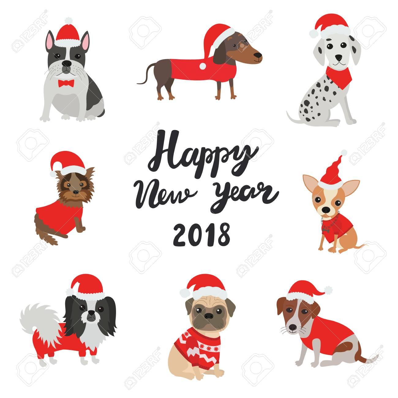 happy new year dog
