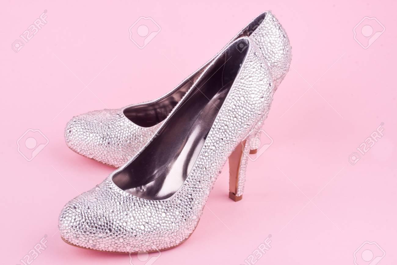 De Con Brillantes Pedrería Zapatos Tacón Alto On0kXNwP8