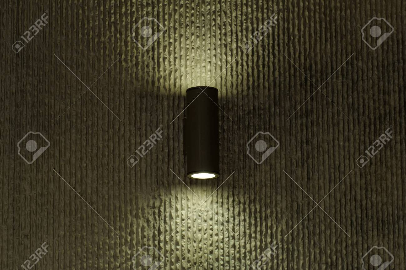 designer lamp on the wall with soft light Stock Photo - 20840854