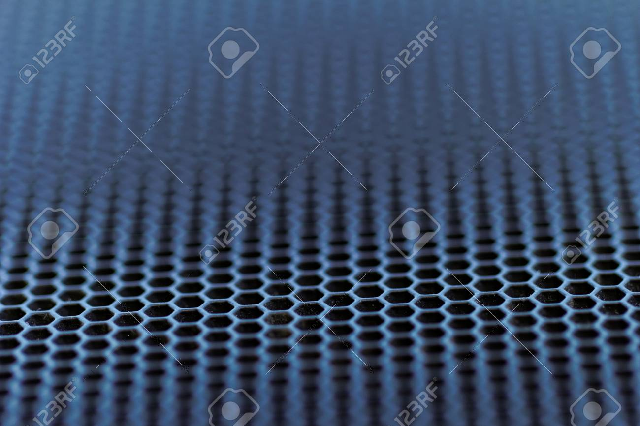 close up about chrome metal with holes Stock Photo - 20935408