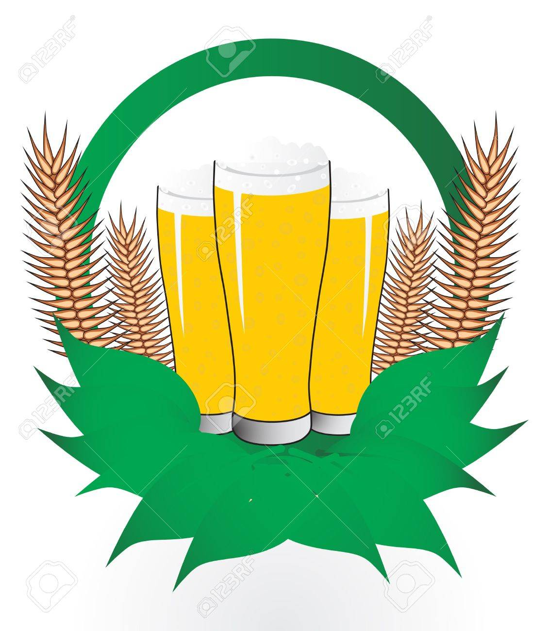 Beer, vector illustration Stock Vector - 11332480